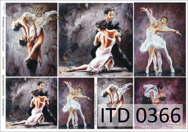 Papier decoupage ITD D0366
