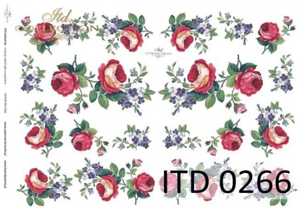 Papier decoupage ITD D0266