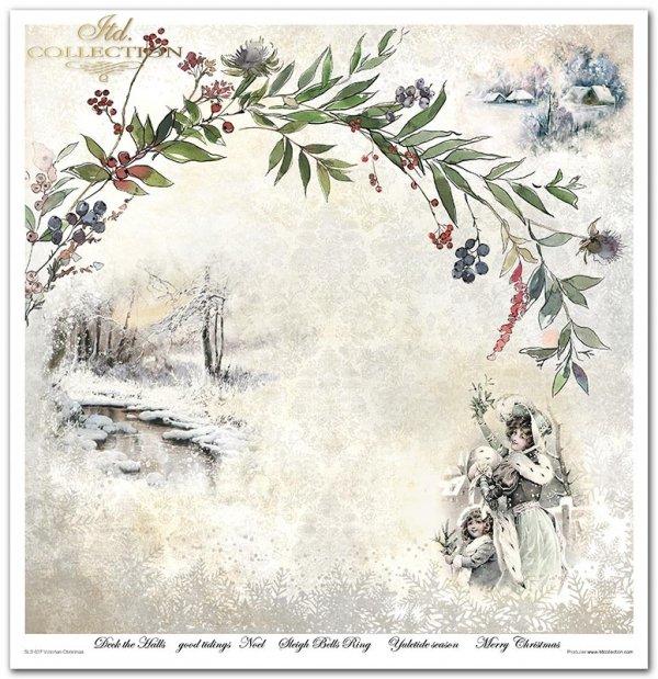 Seria Victorian Christmas*Victorian Christmas*Viktorianische Weihnachten*Navidad victoriana