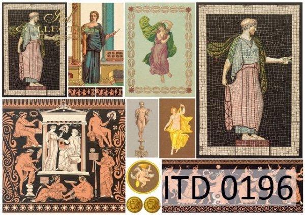 Papier decoupage ITD D0196