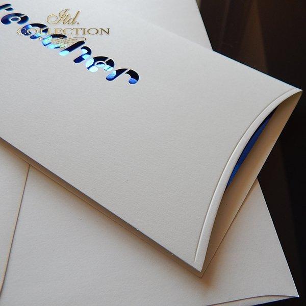Zaproszenie biznesowe ZB1043 z kopertą