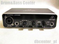 Behringer UMC22 - Interfejs Audio USB z Preampami MIDAS