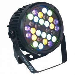 LIGHT4ME BLACK PAR 30x3W RGBA-UV LED MOCNY