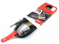 Red's Music MC-1290 - kabel mikrofonowy XLR-Jack 9m