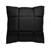 Trix duża poduszka dekoracyjna 50x50 cm. czarna MOODI