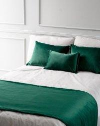 Zielony 4 elementowy komplet sypialniany