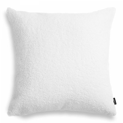 Cozy duża biała poduszka dekoracyjna 50x50