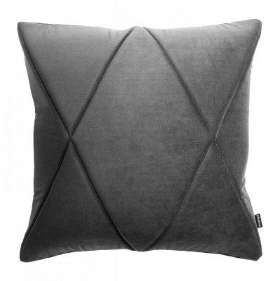 Touch poduszka dekoracyjna grafitowa 45x45 MOODI