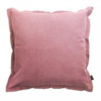 Loft różowa poduszka dekoracyjna 45x45