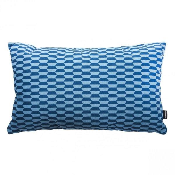 Break niebieska poduszka dekoracyjna 50x30