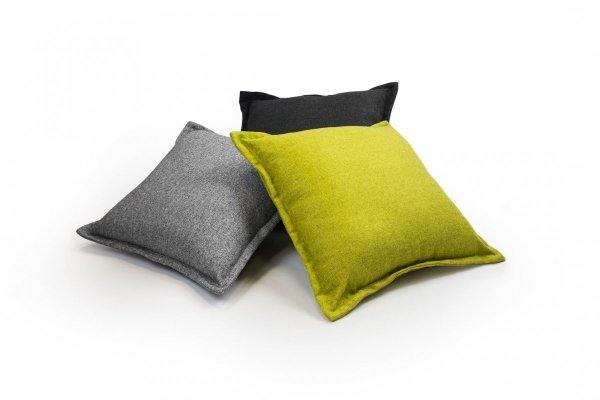 Tweed poduszka dekoracyjna Fioletowa 45x45