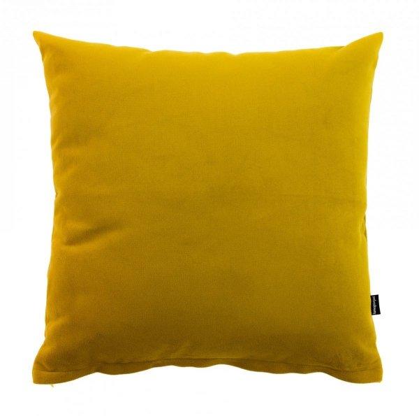 Pram miodowa welurowa poduszka dekoracyjna