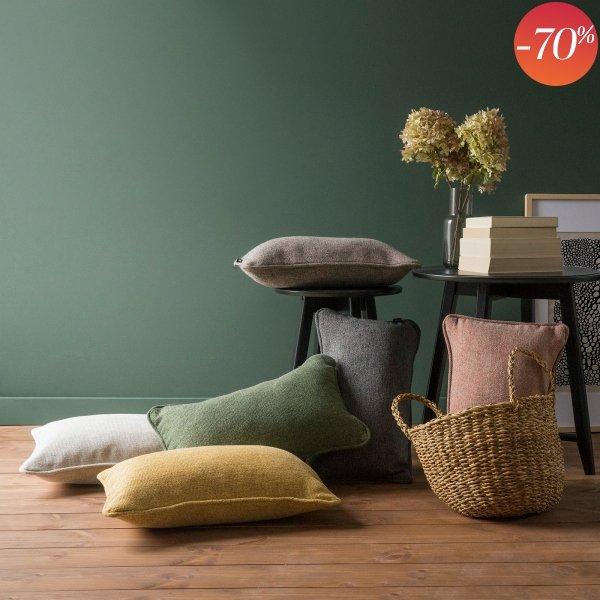 Terra poduszka dekoracyjna 50x30 cm. kremowa
