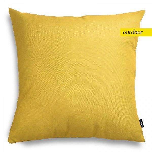 Żółta poduszka ogrodowa 45x45