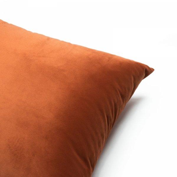 Velvet bordowa poduszka dekoracyjna 50x30