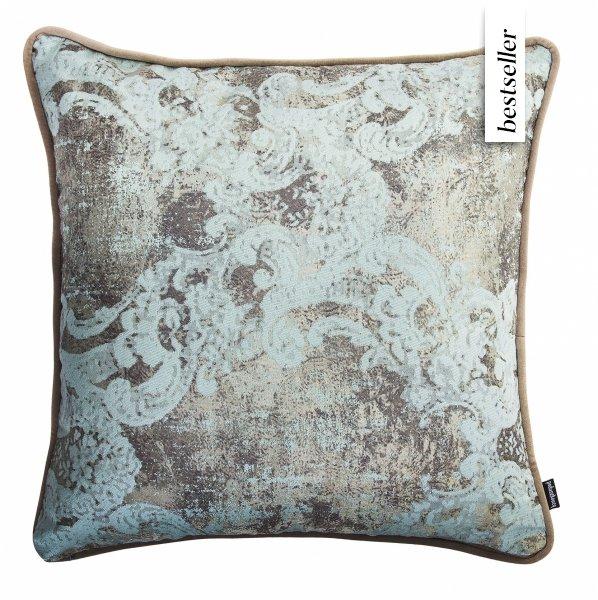 Miętowy zestaw poduszek dekoracyjnych