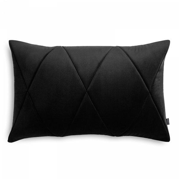 Touch czarna poduszka dekoracyjna 60x40