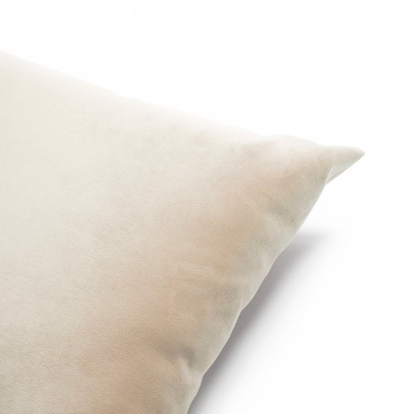 Velvet kremowa poduszka dekoracyjna 50x30