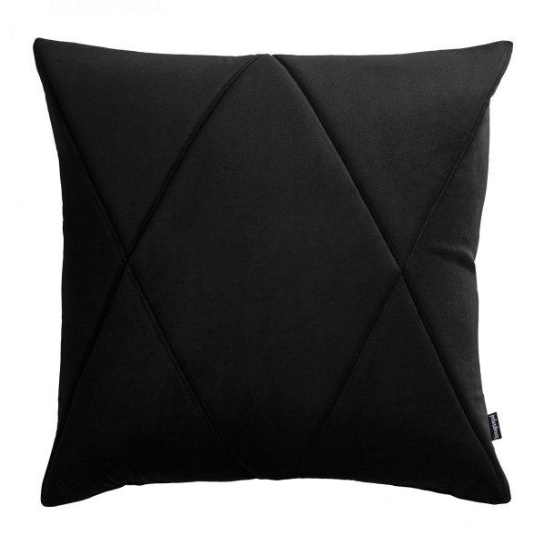 Touch poduszka dekoracyjna czarna 45x45