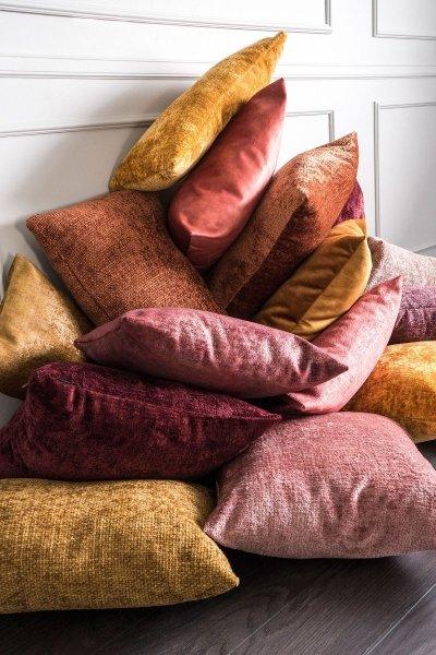 Bergen ruda poduszka dekoracyjna 50x30