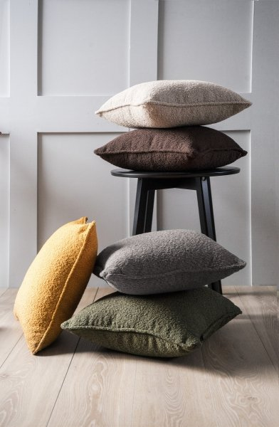 Copenhaga szara poduszka dekoracyjna 45x45