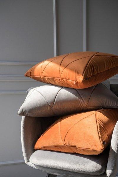 Touch poduszka dekoracyjna szara 60x40 MOODI