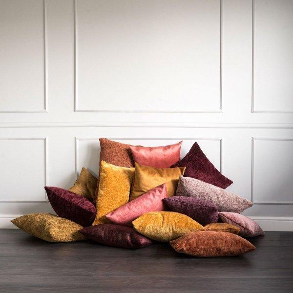 Bergen żółta poduszka dekoracyjna 50x30