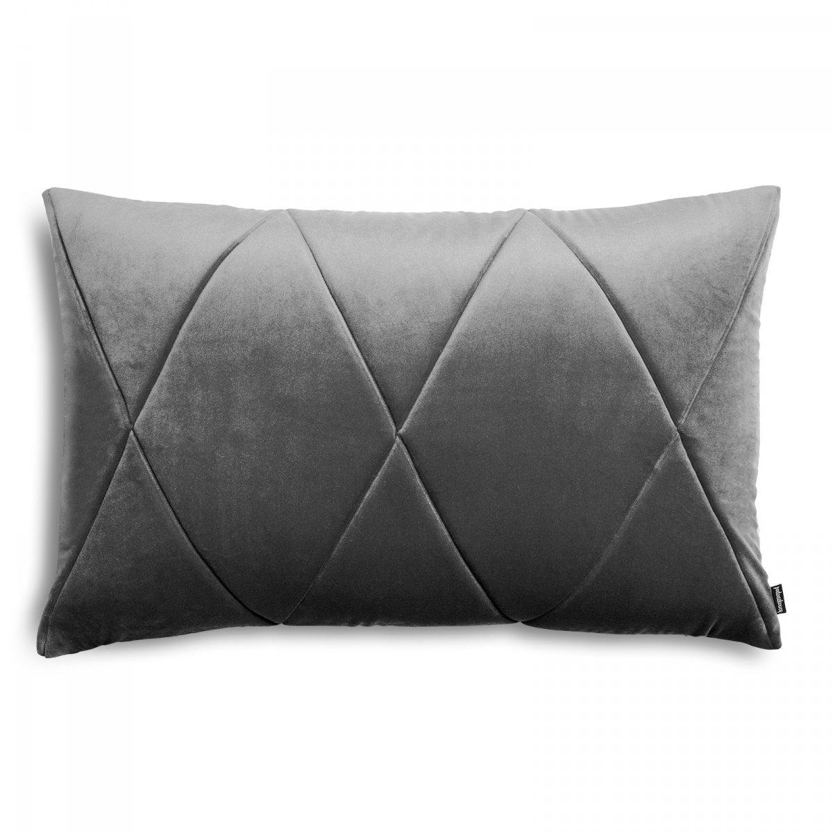 Touch poduszka dekoracyjna grafitowa 60x40 MOODI
