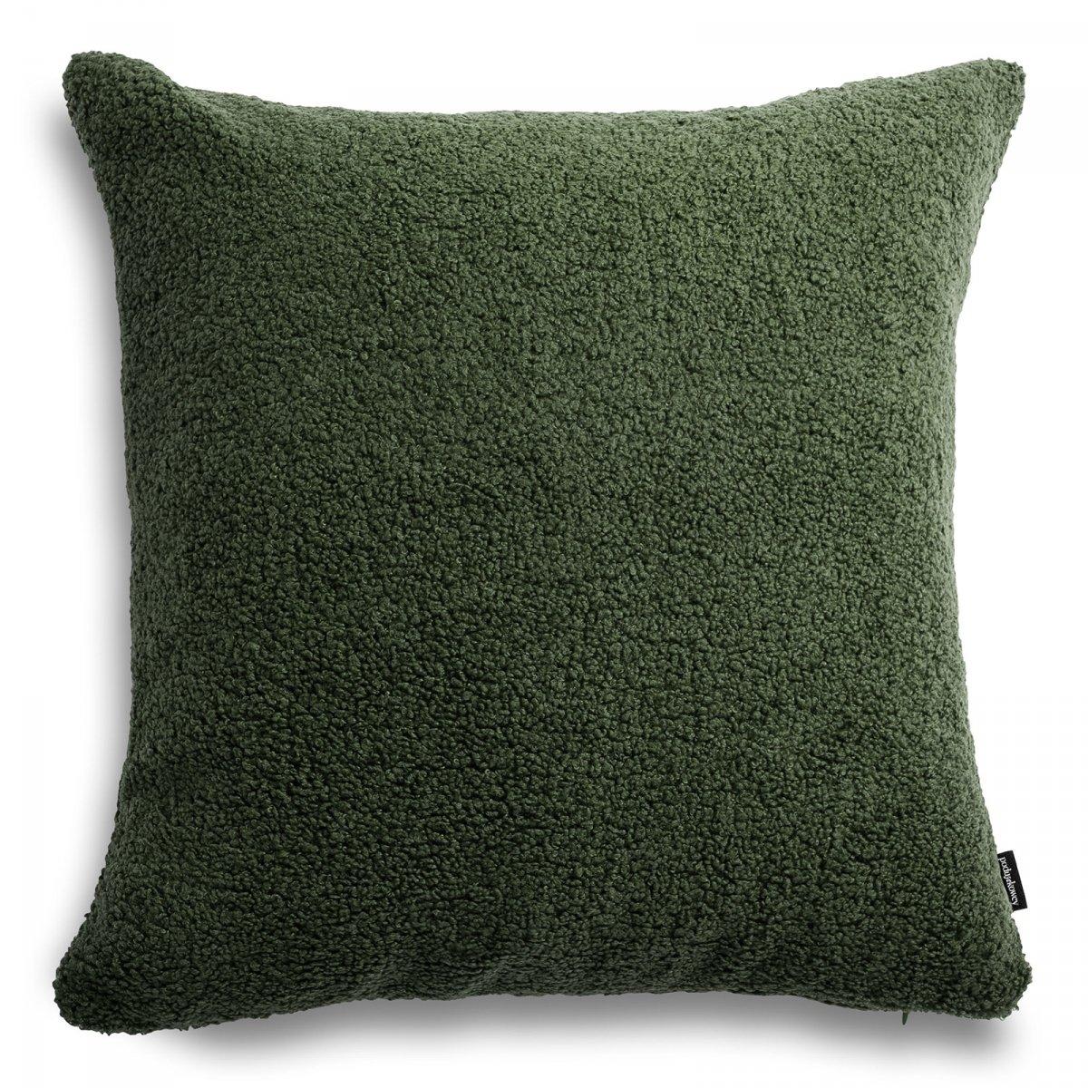Cozy duża zielona poduszka dekoracyjna 50x50