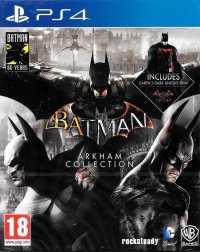 BATMAN ARKHAM COLLECTION STEELBOOK PS4 PL
