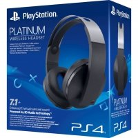 PLAYSTATION WIRELESS STEREO HEADSET PLATINUM 7.1 PS4