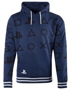 BLUZA MĘSKA Playstation - AOP Icons XL