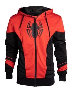 BLUZA DRESOWA Spider-Man - Red & Black 2XL
