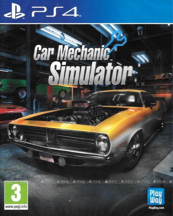 CAR MECHANIC SIMULATOR PS4 PL