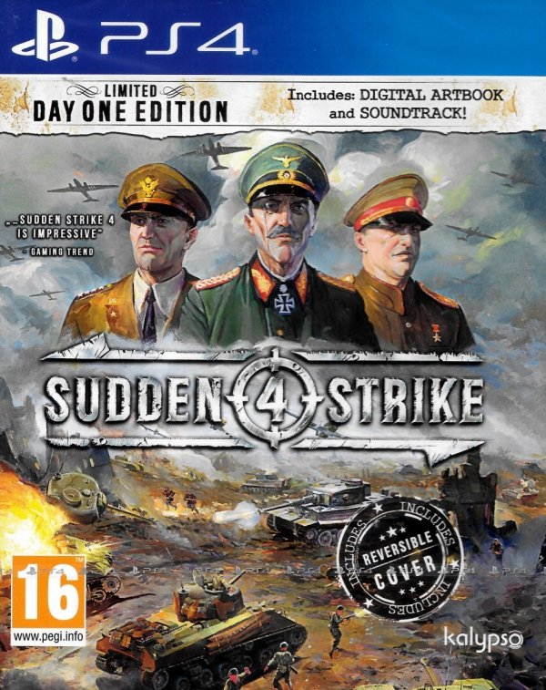 SUDDEN STRIKE 4 LIMITED DAY ONE EDITION PS4 PL