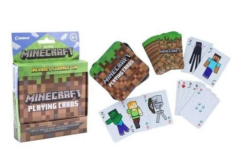 MINECRAFT KARTY DO GRY