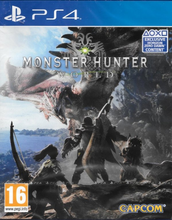 MONSTER HUNTER WORLD PS4 PL