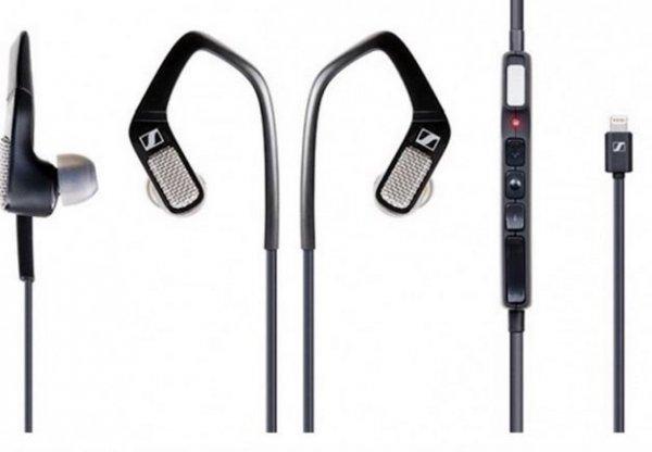 Sennheiser Ambeo Smart Headset iOS 3D-Sound Czarne