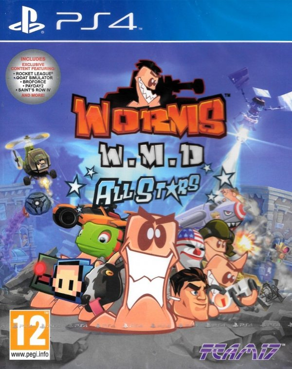 WORMS W.M.D. ALL STARS PS4 PL