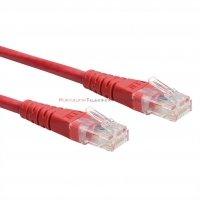 PREMIUM UTP Patch cord 3,0 m. Kat.6 czerwony
