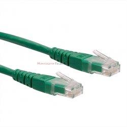 PREMIUM UTP Patch cord 1,0 m. Kat.6 zielony