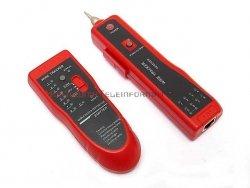 WireTracker TM-9 Szukacz par przewodów niskonapięciowych + słuchawki + tester LAN