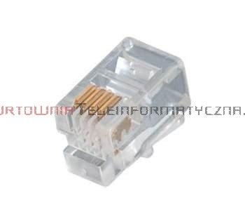 Wtyk RJ09 mikrowtyczna 4p4c (100szt)