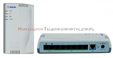 SLICAN centrala ITS-106 1LM, 6ab, 1VoIP, 2 IP
