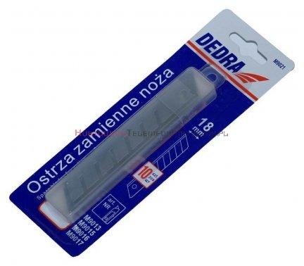 Wkład - ostrza łamane 18 mm ( 10 szt)