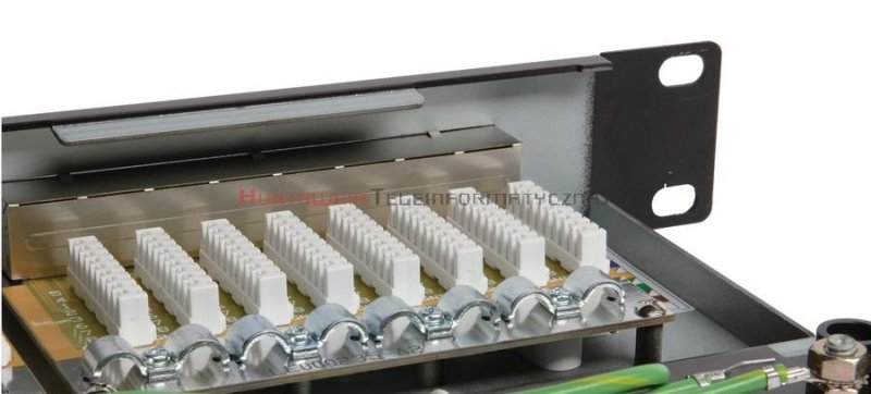 SOLARIX Patch Panel 24XRJ45 kat.6 FTP z półką, czarny 1U