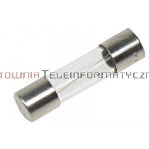Bezpiecznik rurkowy topikowy szklany 20mm 2,5A