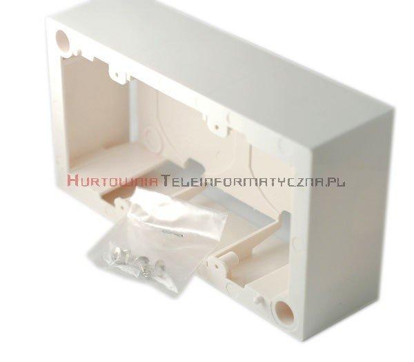 EBOX 45 puszka natynkowa 4 modułowa