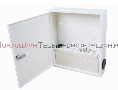 DOMNET skrzynka multimedialna mini, RAL9010, 320x280x66 mm + wyposażenie
