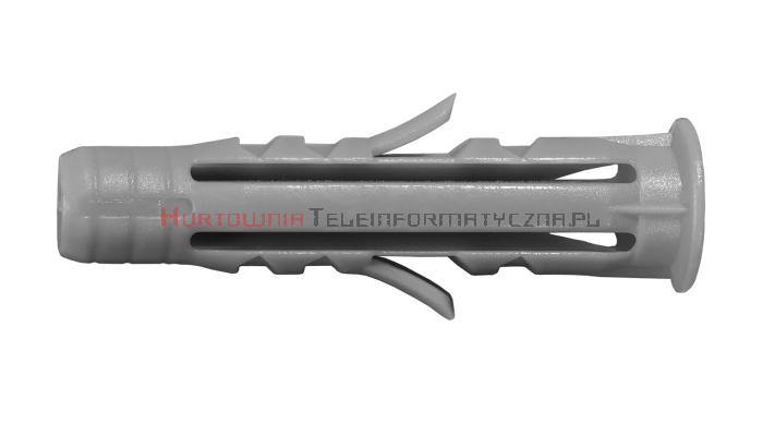 TECHNOX P-TUZ 6/35 Kołki rozporowe plastikowe 6x30 + wkręt 3,5x35 (100szt)